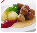 Our famous Swedish Meatballs