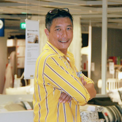 a photo portrait of IKEA Customer Relations Manager, Ron Soo