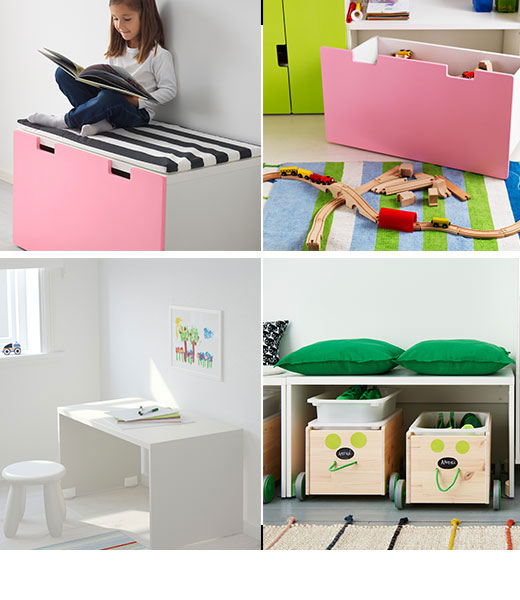 STUVA storage bench