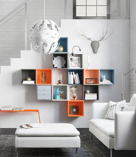 EKET cabinet wall storage