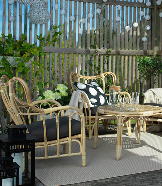 MASTHOLMEN rattan lounge furniture