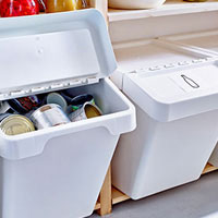 categories small storage - waste sorting