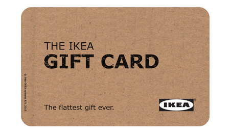 giftcards ikea. Black Bedroom Furniture Sets. Home Design Ideas