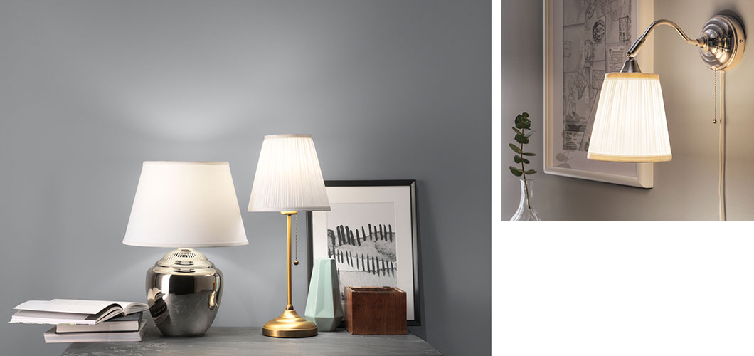 Lamps that set a brighter mood