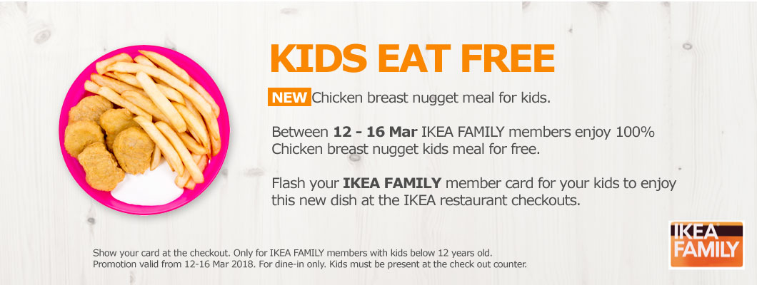 IKEA KIDS EAT FREE