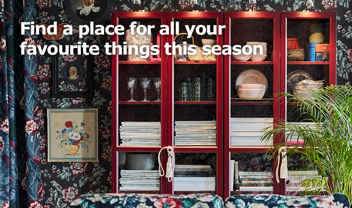 Get organised this Chinese New Year with IKEA Home Furnishings!