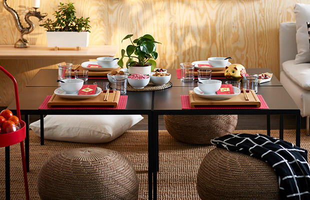 NYBODA coffee table living room family dinng roomsetting showcase