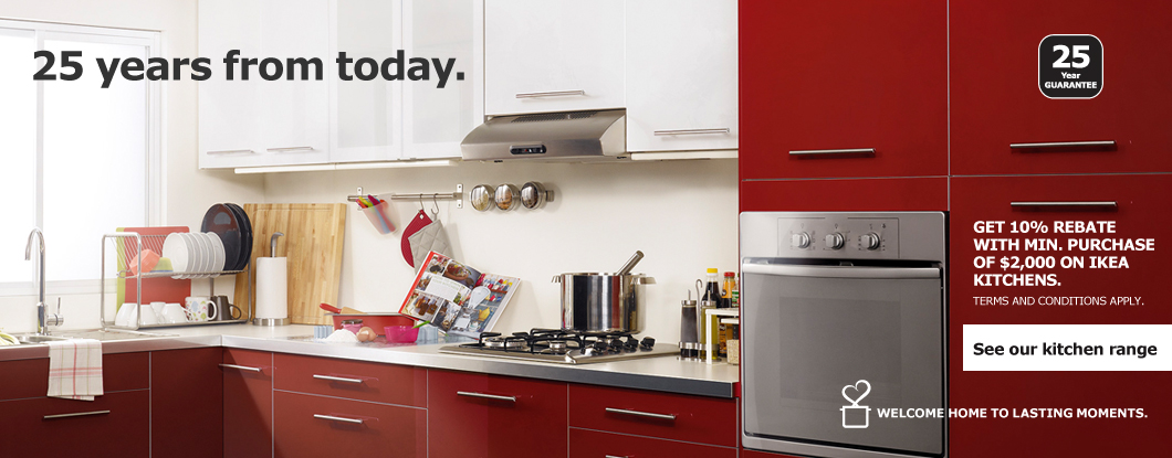 See our kitchen range
