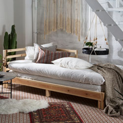 Beds bed frames bedroom furniture ikea - Lit mezzanine 140x190 bois ...
