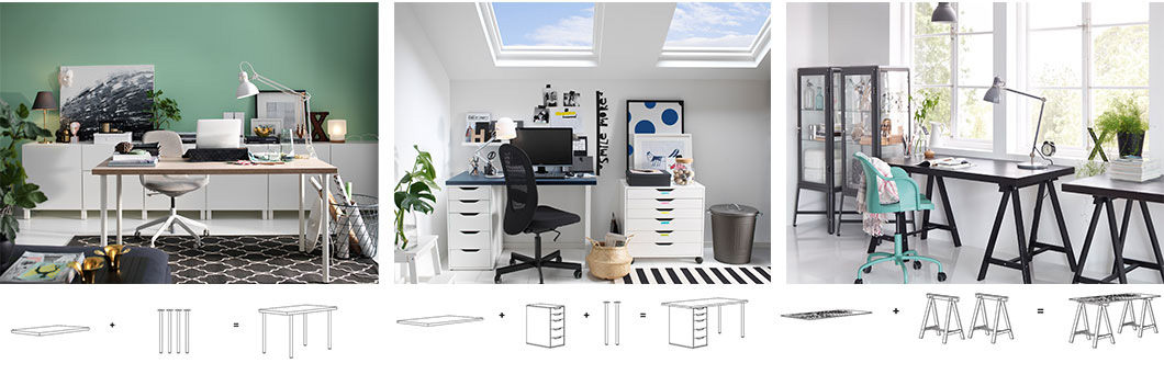 Office Storage Workspace Storage Singapore Ikea