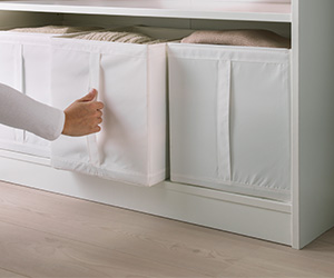 SKUBB box, white