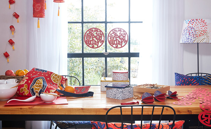 IKEA home furnishings Chinese New Year CNY 2019 SOLGLIMTAR range showcase