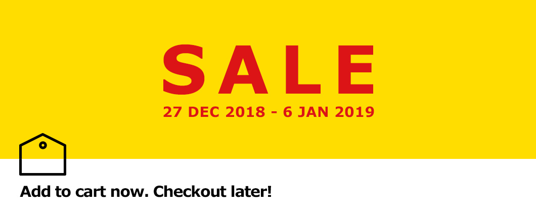 IKEA Furniture Singapore Sale teaser - add to your cart now, checkout later when our SALE starts!