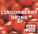 Lingonberry drink
