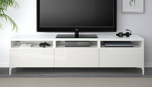 TV storage system  TV bench and cabinet