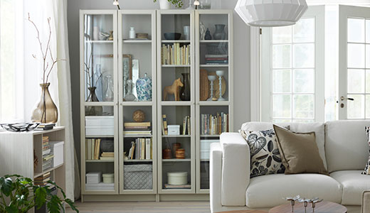 Bookcases modern traditional ikea for Brusali bookcase