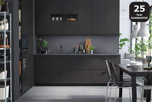 Ikea Kitchen High Cabinets
