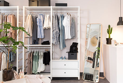 Hanging Clothes Rack Singapore Open Clothes And Shoe Rack Ikea