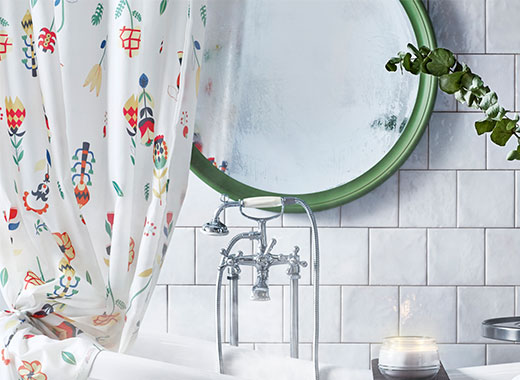 IKEA Shower curtains