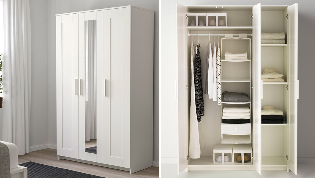 bedroom storage wardrobes pax fitted wardrobes ikea. Black Bedroom Furniture Sets. Home Design Ideas