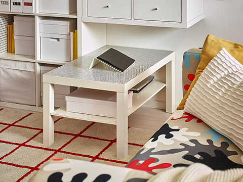 IKEA Home furnishings lack coffee table for your living room lounge setting