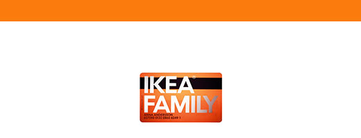 More special offers! for IKEA FAMILY