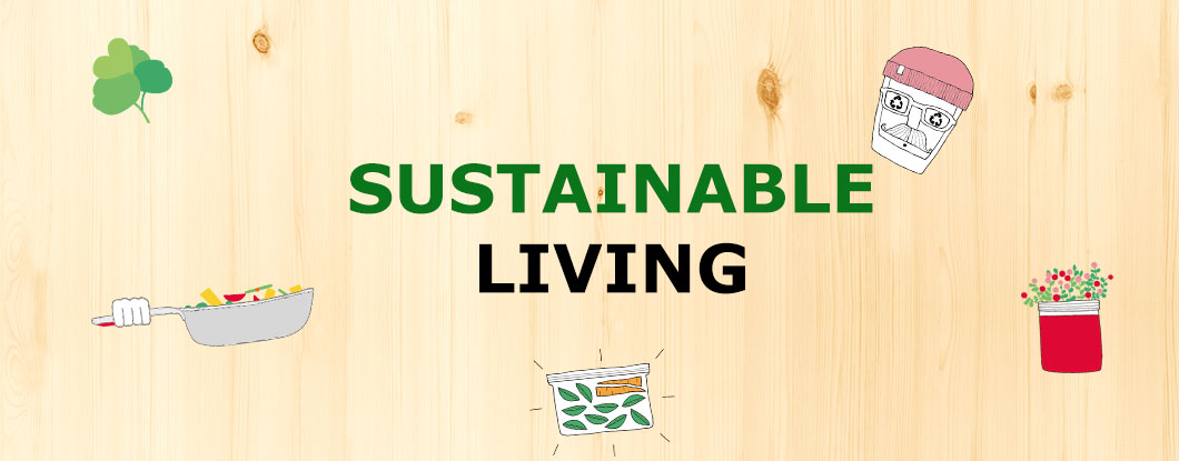 sustainable living banner