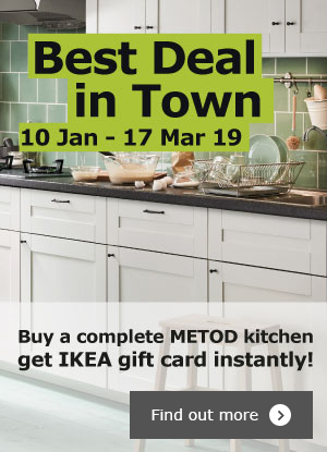 METOD Kitchen Rebate