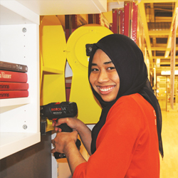 Communication and Interior Designer/Sharifah Izzah Sakinah