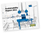 front page of the IKEA sustainability report