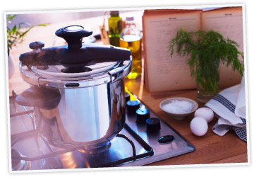 saving energy and time with a DILLKÖTT pressure cooker