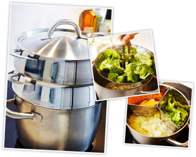 energy efficient cooking with STABIL