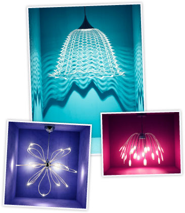 IKEA pendant lamps with LED technology