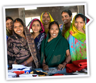 a group of female textile workers