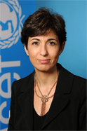 Portrait of Leila Pakkala from UNICEF