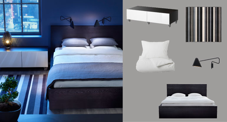 chambres coucher matelas lits plus ikea. Black Bedroom Furniture Sets. Home Design Ideas