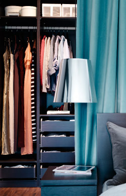Your walk-through closet