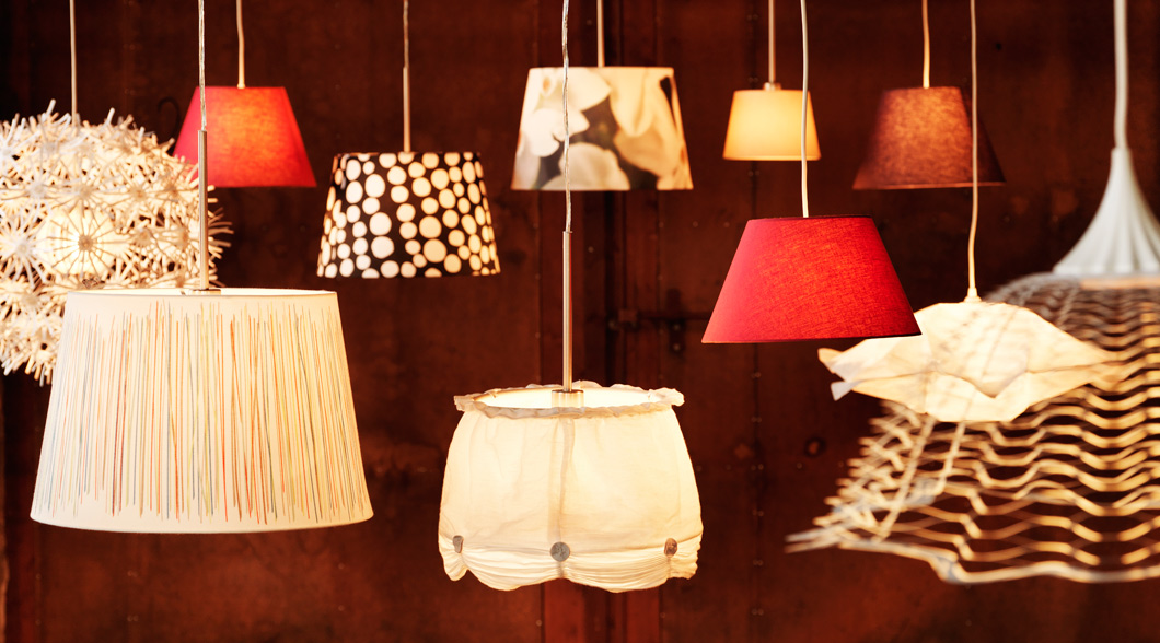 Various pendant lamps.