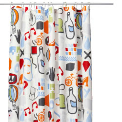 SANDGRUND shower curtain