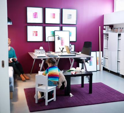 Workspace for the whole family