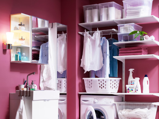 Laundry laundry cleaning clothes storage systems more ikea - Rangement cellier ikea ...
