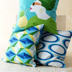 Close-up of SPRINGKORN cushion covers