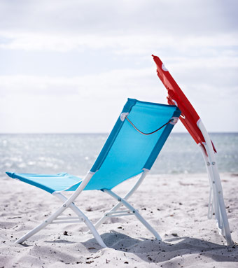 HÅMÖ beach chairs on the beach