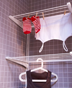 ALGOT drying rack combination