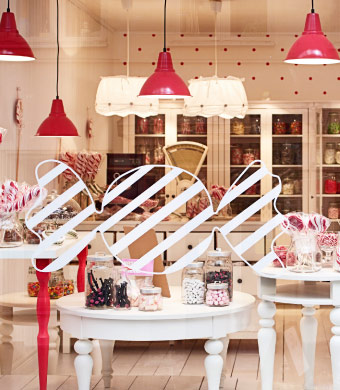 A shop as sweet as candy