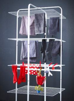MULIG drying rack in four levels