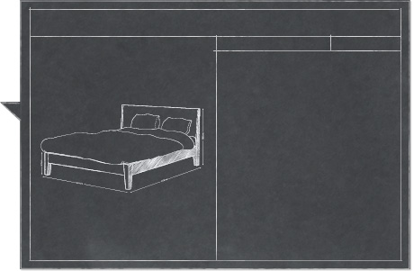 NORDLI Bed white