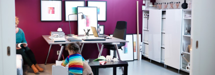 Family workspace – for kids too