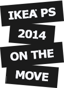 IKEA PS 2014 ON THE MOVE/ZIT NIET STIL logo