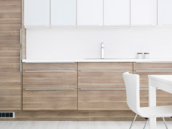 Our Walnut Effect Light Grey Sofielund Kitchen Doors And Rationell Interior Fittings Are The Perfect photo - 2